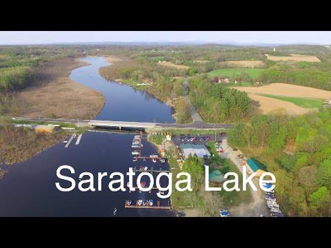 DRONE OVER SARATOGA LAKE