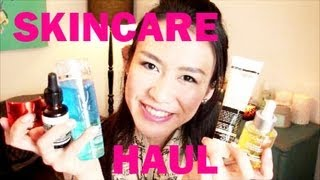 HUGE Beauty SKINCARE Haul - Lancome Clarins Loccitane Aesop Astalift md formulations & MORE Thumbnail