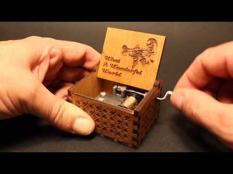 What a Wonderful World - Louis Armstrong - Music box by Invenio Crafts