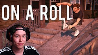 AWESOME AGGRESSIVE INLINE GAME | On A Roll