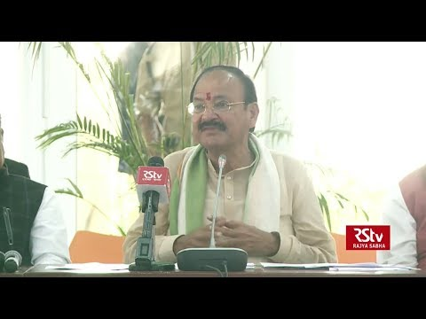Recent events in parliament and assemblies disturbing, says VP Naidu on disruptions