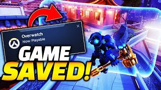 Overwatch is now PLAYABLE! Shield META DEAD!