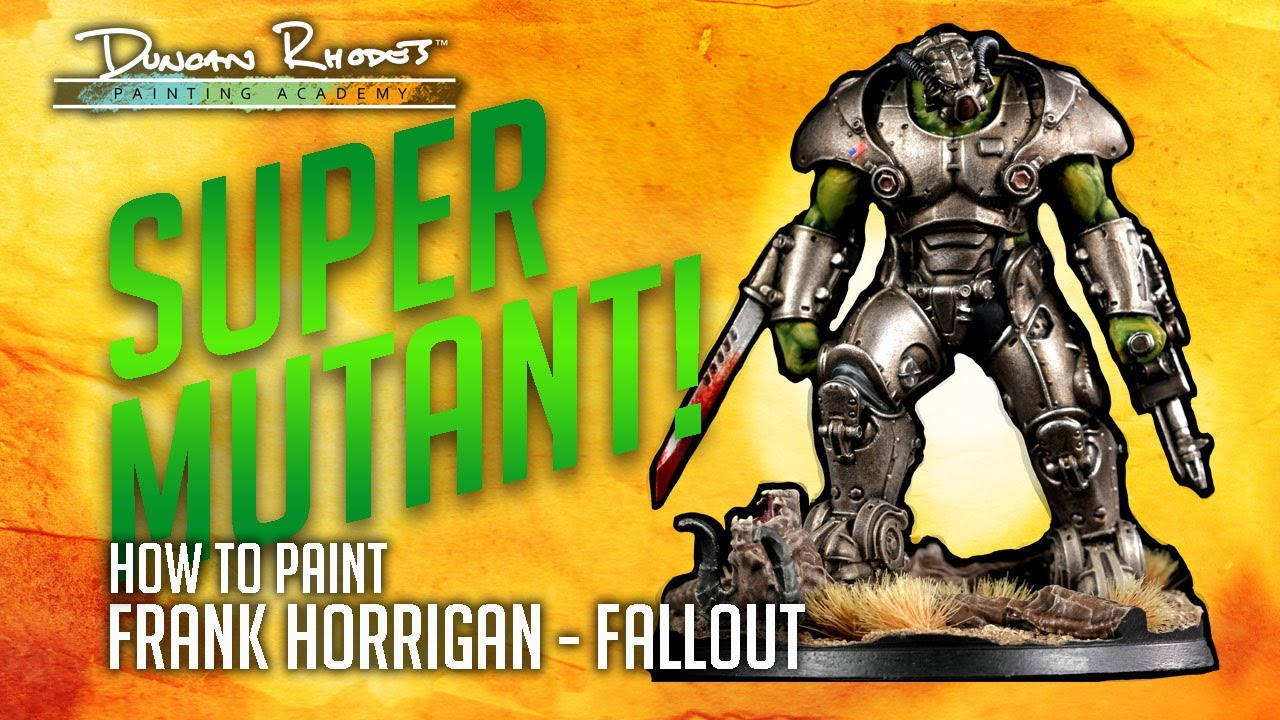 How to paint Frank Horrigan - Fallout: Wasteland Warfare.