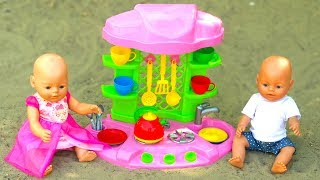 Doll & tea set - Funny Play by ABC baby show