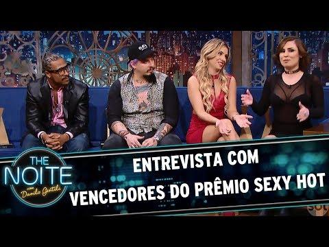 Entrevista com Vencedores do Prêmio Sexy Hot | The Noite (19/06/17) thumbnail