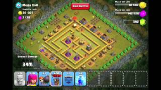 This is a walkthrough for Mega Evil in the game Clash of Clans. Sub...