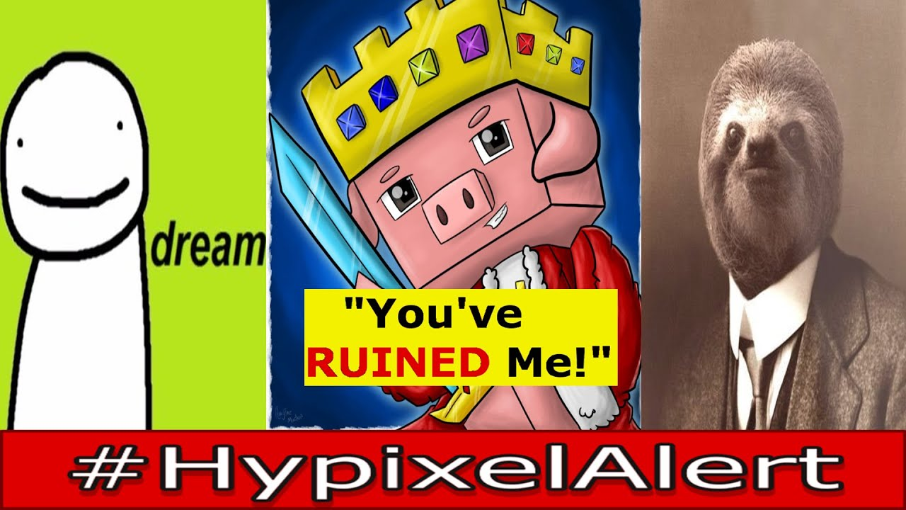 Technoblade Accidentally LEAKS Potato War 3 RELEASE DATE!? #HypixelAlert Dream Asks ft. Hellcastle