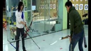 funny accident in archery club