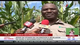 Apoio às vítimas de calamidade é  revelador do quão o moçambicano é solidário