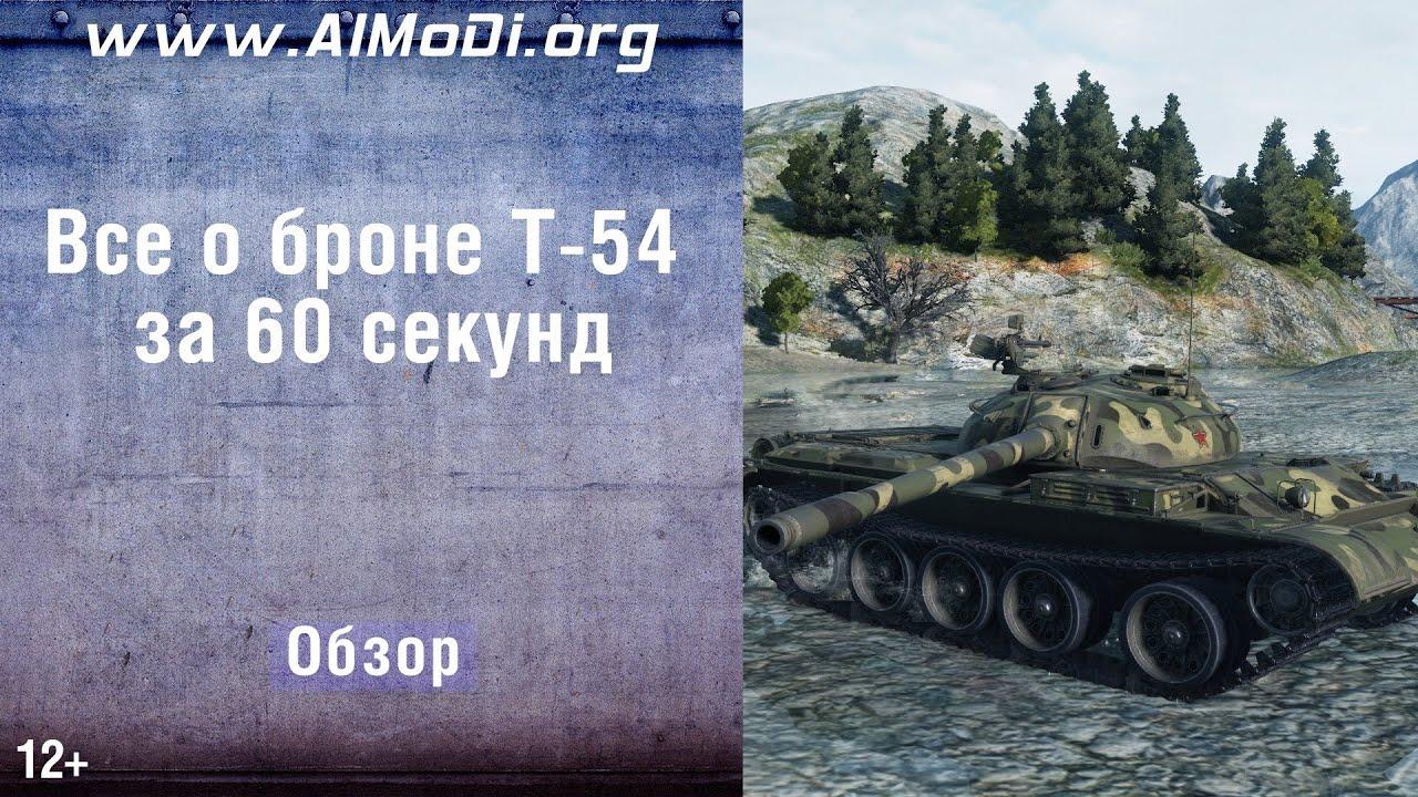 t-54: схема бронирования