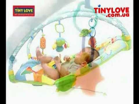 Tiny Love кресло шезлонг баунсер Жители Саванны Tinylove