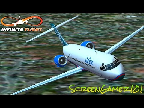 Infinite flight AIR TRAN BOEING 717-200 takeoff