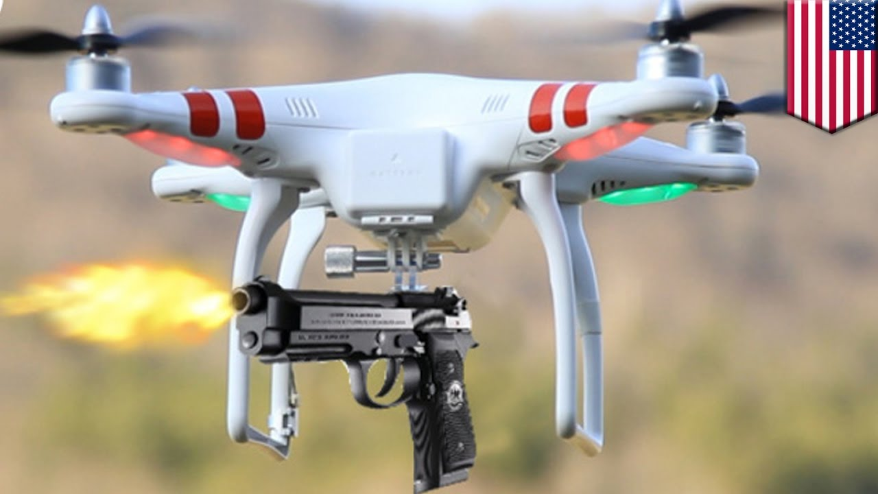 Police Drones Connecticut Cops Could Be First In US To Get Lethally Armed