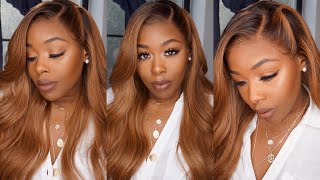 Summer Hair Goals 🙌🏿 Black to Blonde Ombré 360 lace wig Pre- Bleached & Plucked Rpghairwig