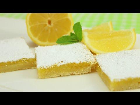 Lemon Bars- leckere Zitronenschnitten