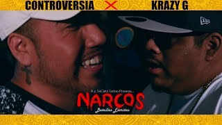 """CONTROVERSIA VS KRAZY G  