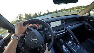 Why I Really Dig The 2018 Lexus Lc 500 - Pov Final Impressions  Binaural Audio