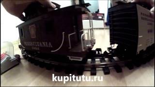 Модели железных дорог PIKO G 37103 большая железная дорога(Купить модель PIKO G можно здесь: http://kupitutu.ru/collection/startovyie-nabory/product/startovyi-nabor-gruzovoi-poiezd-piensilvaniia., 2012-12-09T18:40:45.000Z)