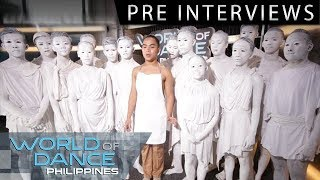 World Of Dance Philippines: The Idols | Pre-Interview