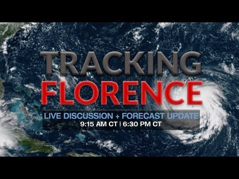 Watch Now: Tracking Hurricane Florence 2018 | Live Updates
