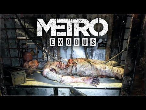 Metro: Exodus - ЗАГАДКА ФРАНКЕШТЕЙНА! КАК ОТКРЫТЬ ДВЕРИ? (Жуткий эксперимент в Метро)