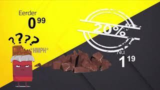 Prijspakker: Pure chocolade van de Aldi
