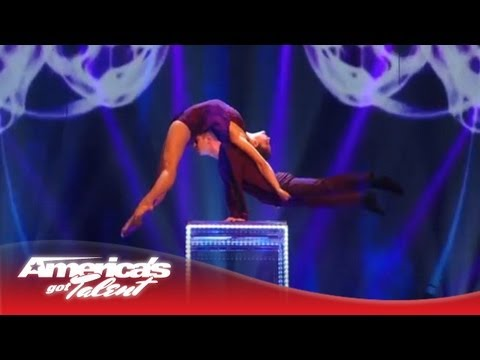 """Duo Resonance - Acrobatic Act Set to """"Glitter"""" by Pink - America's Got Talent Semi-Finals 2013"""