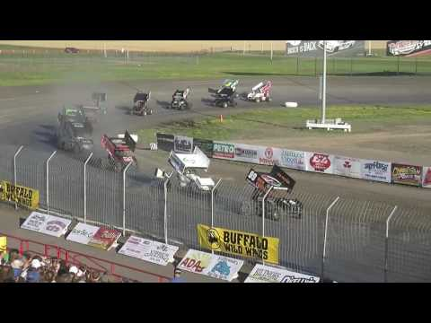 Red River Valley Speedway 07/17/2016 - NOSA Sprints B-Main