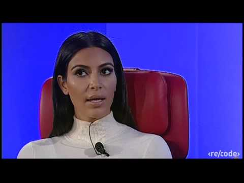 Kim Kardashian West Interview at Re/code