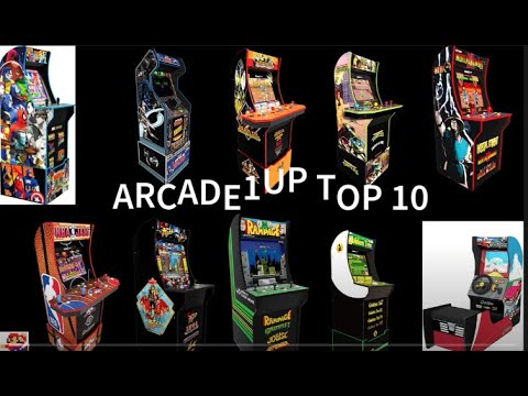 Arcade1up Top 10 from Robs Retro Reviews