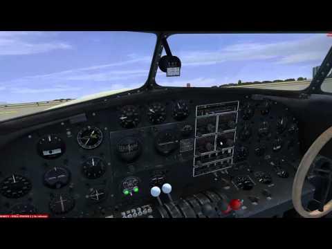 FSX: VFR LEAM - LEAB