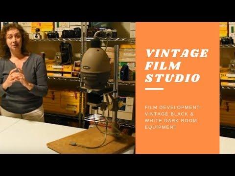 Vintage Film Studio - Black & White Dark Room Equipment