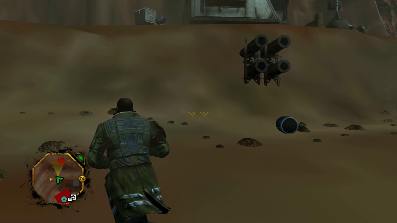 Red Faction Guerrilla Re-Mars-Tered Texture Glitch