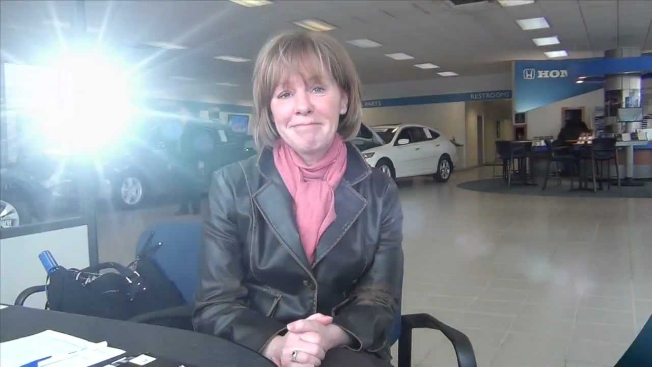Dick Ide Honda >> Customer Testimonial : Maureen - 2012 Honda Accord -Dick ...