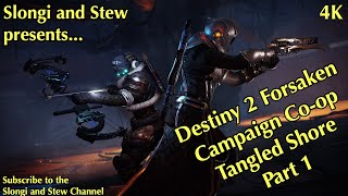Destiny 2 (4K) - Forsaken - Campaign - Slongi Stew co-op (live) - Tangled Shore - Part 01