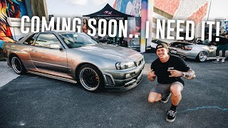 Finding the PERFECT R34 Skyline GTR in Miami!