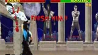 Mortal Kombat arcade Sub-Zero no jumping 1/2 thumbnail