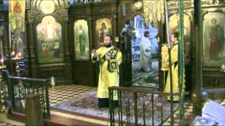Архиерейская служба в д. р. архимандрита Нестора 18.09.12(Климент, Епископ Ирпенский возглавил Божественную литургию в день рождения архимандрита Нестора 18.09.12., 2012-09-19T23:54:39.000Z)