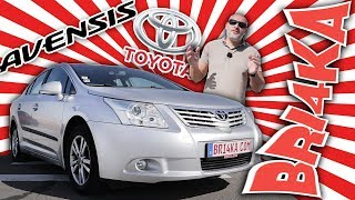 TOYOTA AVENSIS 3 GEN| Test and Review| Bri4ka.com