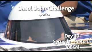 Day 10 of the Sasol Solar Challenge
