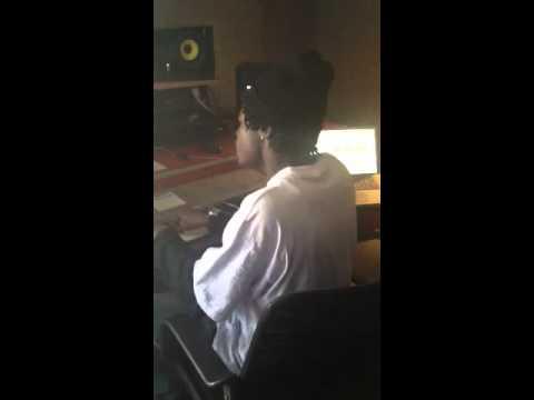 Lil Corey in AZ Studio session