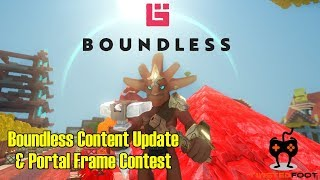 Boundless Content Update and Portal Frame Contest | Boundless Let
