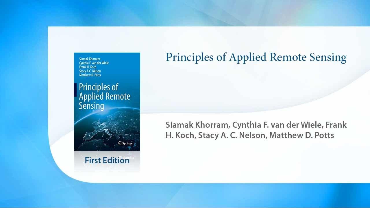 Principles of Applied Remote Sensing