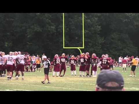 Redskins Training Camp 8/6/11 Part 1