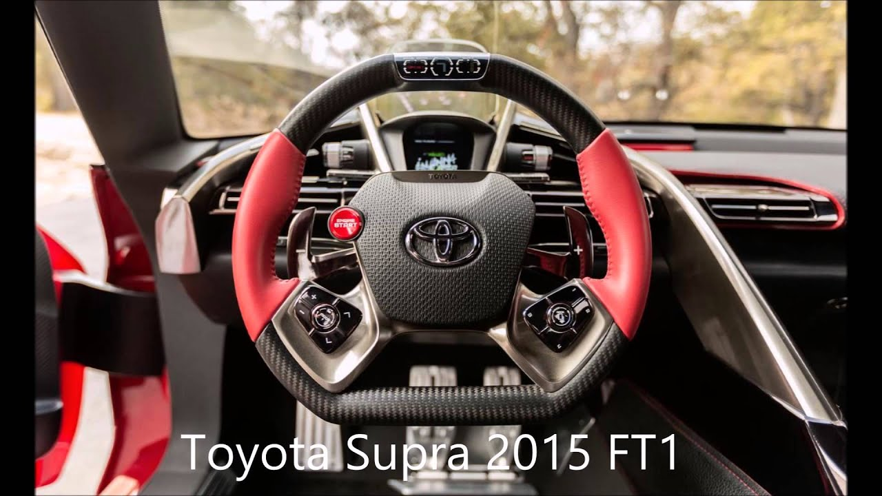 Toyota Supra 2015 FT1 inner and outer Slideshow