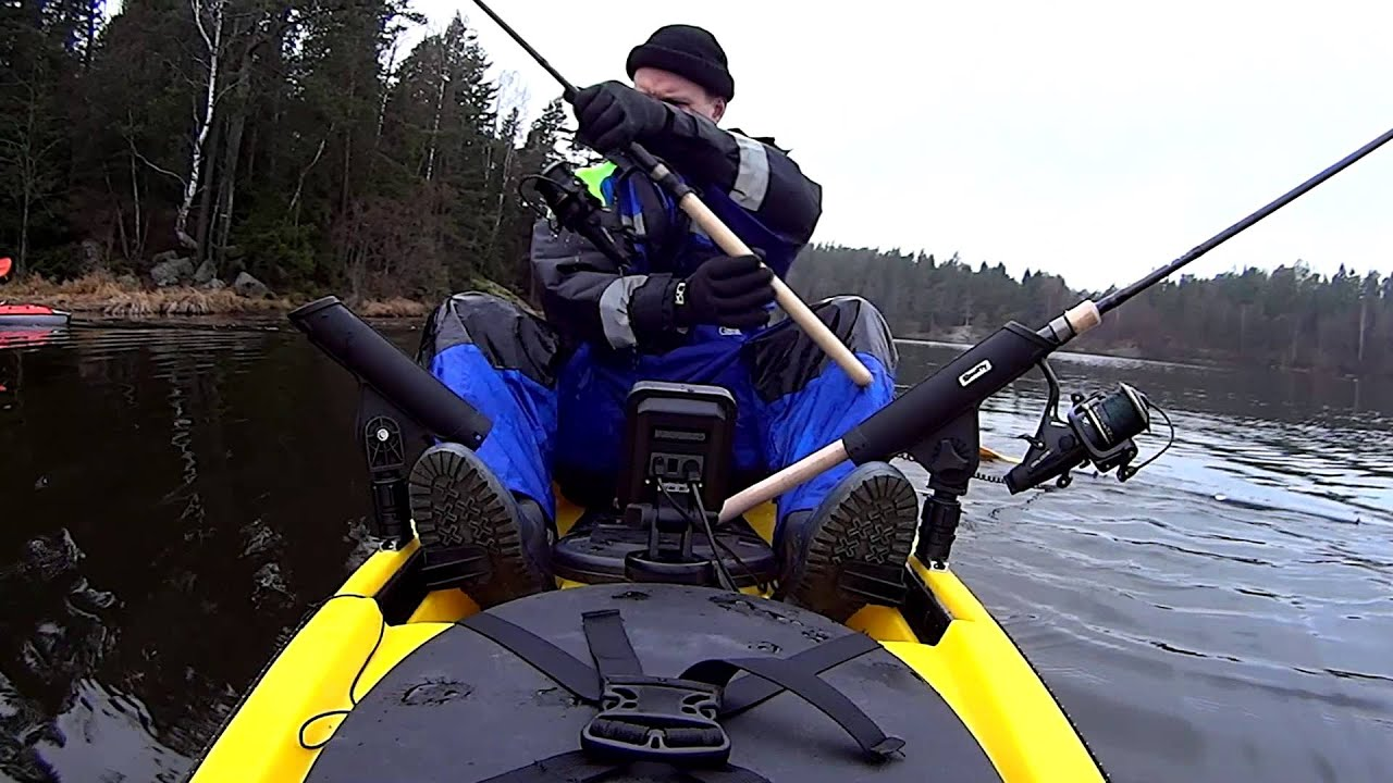 Rod removal during trolling from kayak YouTube
