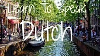 Learn To Speak Dutch Language