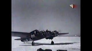 История авиации. Скоростной бомбардировщик СБ-2 учебный фильм для летчиков РККА, 1944
