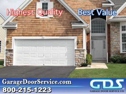 Gds Garage Door Service Co 800 840 8166 Youtube