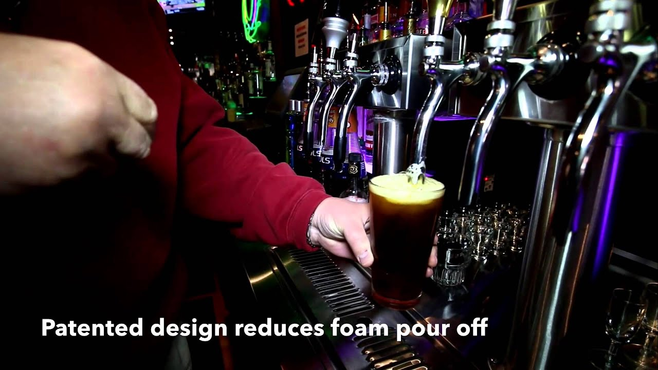 The QuickDraw Draft Beer Faucet - YouTube